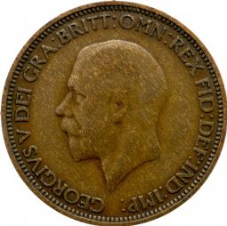 Half Penny George V For sale